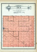 Township 28 Range 9, Verd Gris, Holt County 1915